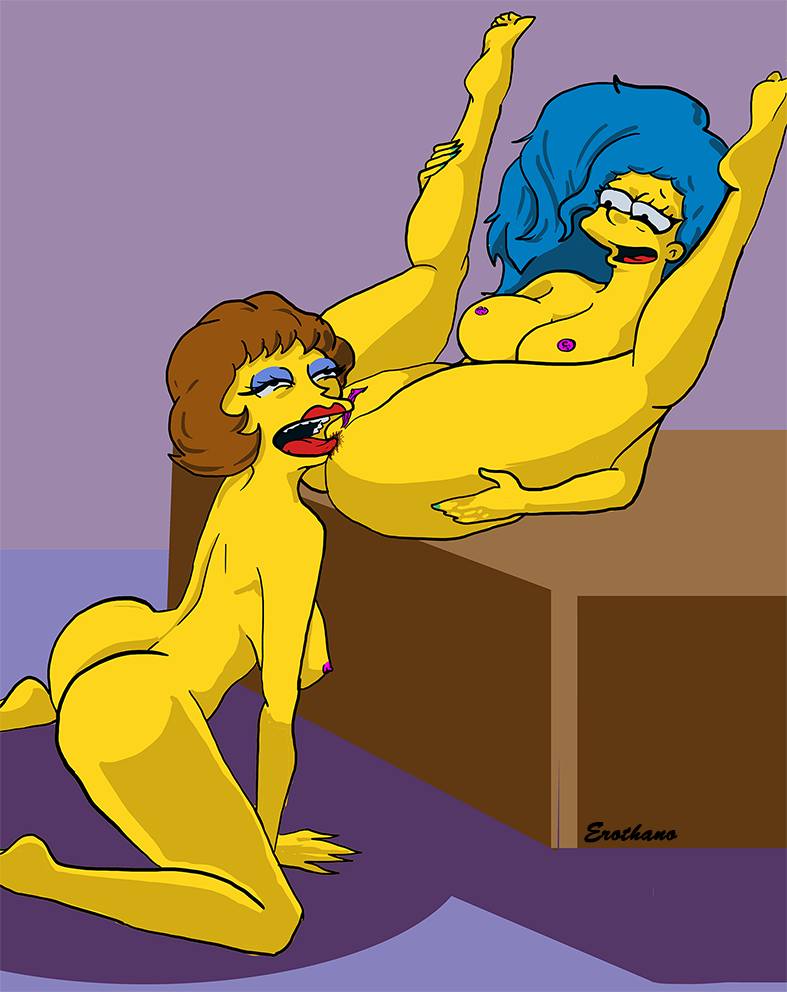 Something is. Marge porno are