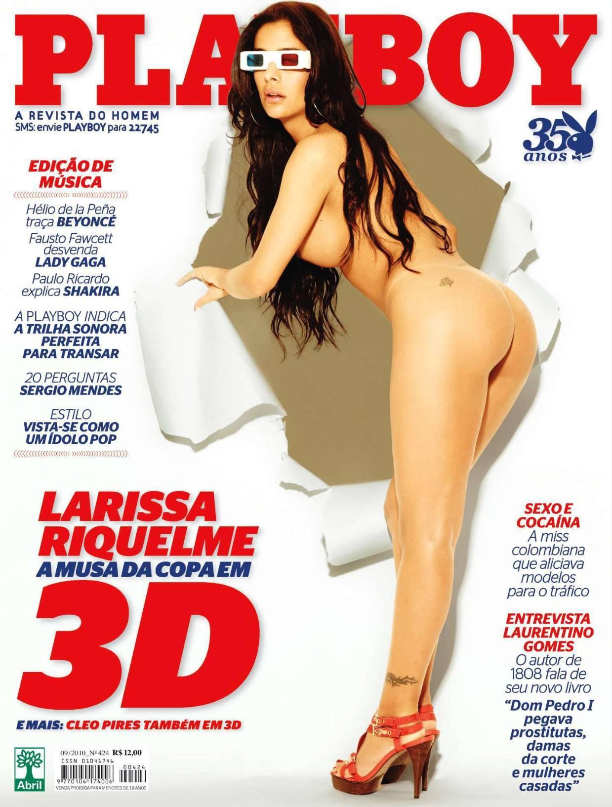 Larissa Riquelme en Playboy (2010)