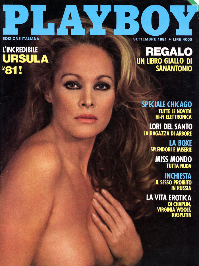 Ursula Andress en Playboy (1981)