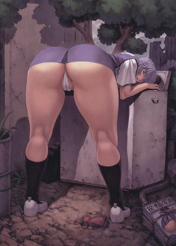 Imágenes hentai de Ayanami Rei