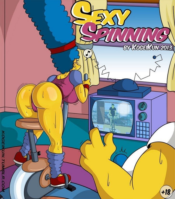 Los Simpsons - Marge - Sexy Spinning