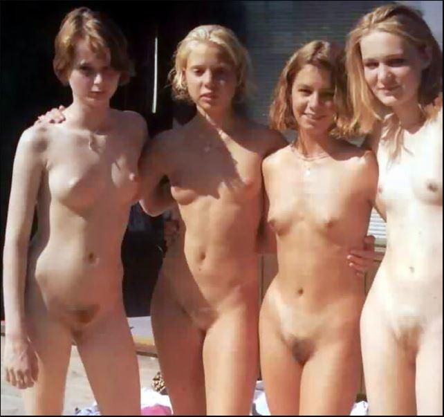 Lolitas desnuditas.......