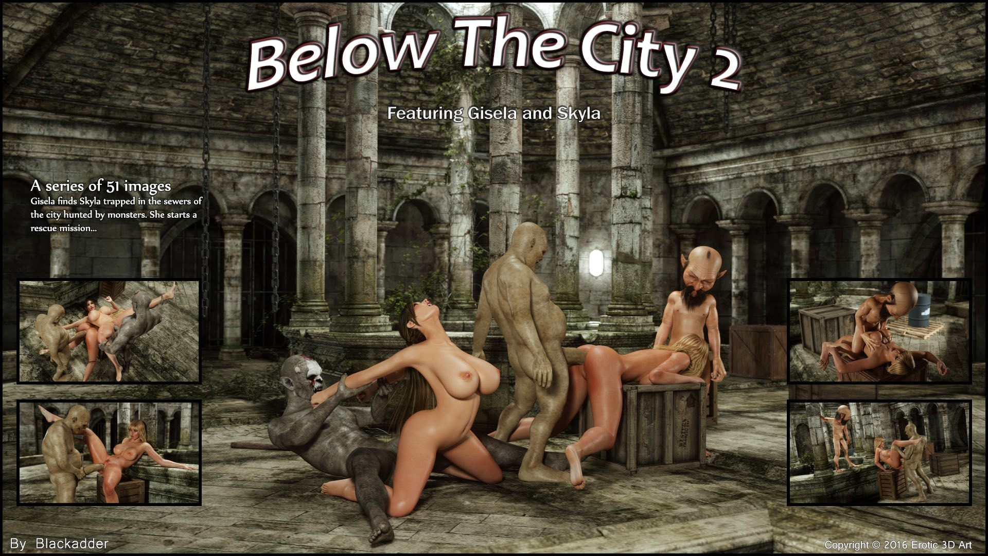 Below The City 2 xxx comic